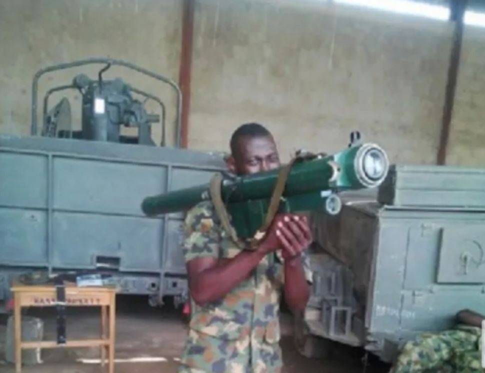 Image result for Nigerian military air defense structure