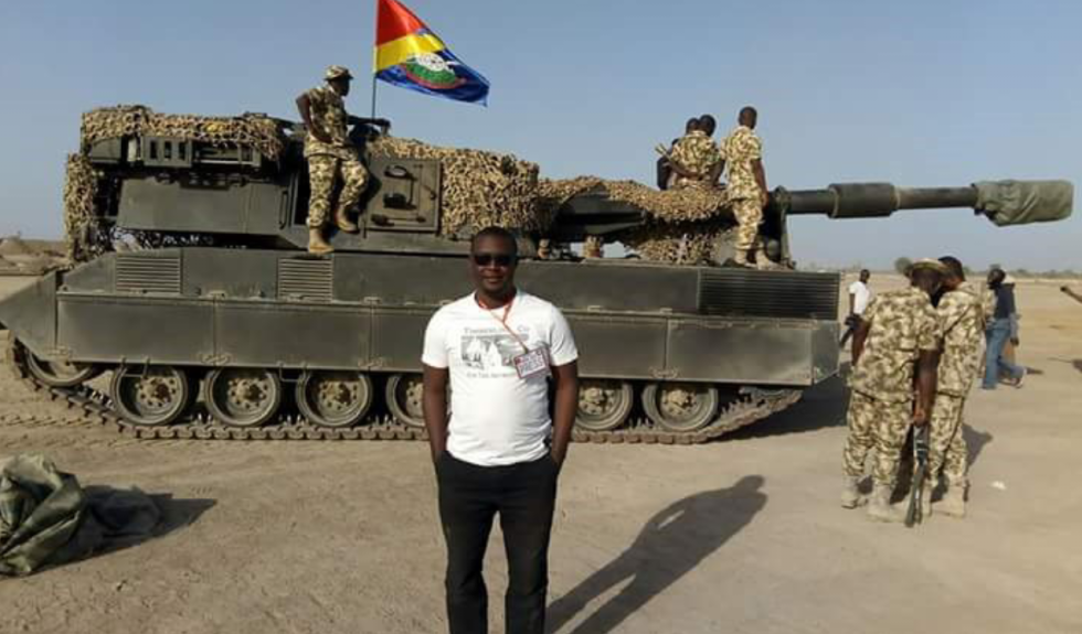 A journalist embeded with the Nigerian Army during operations in Nigeria's northeast.