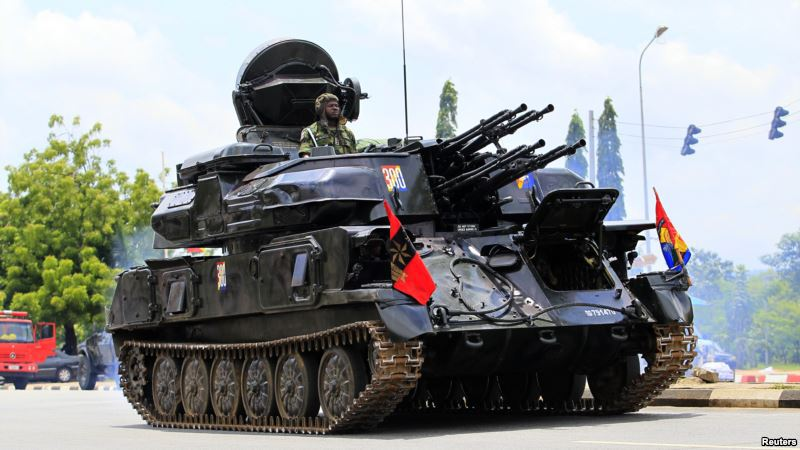Image result for Nigeria's air defense guns