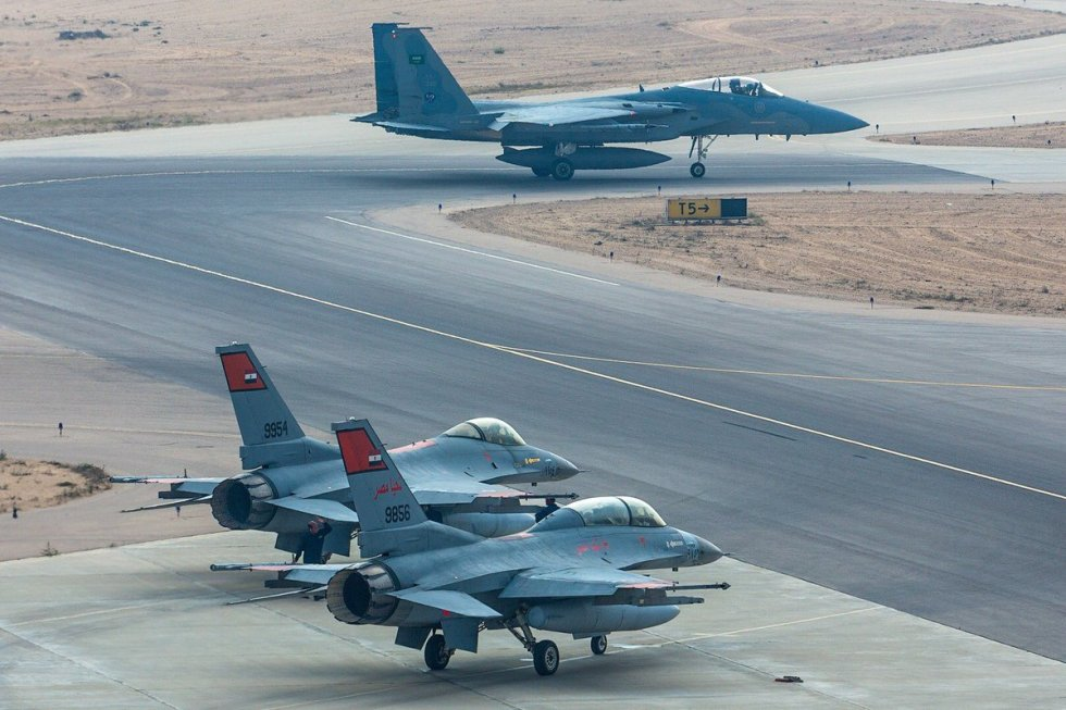 Saudi & Egyptian Air Forces conduct final phase of exercise Faisal11 1