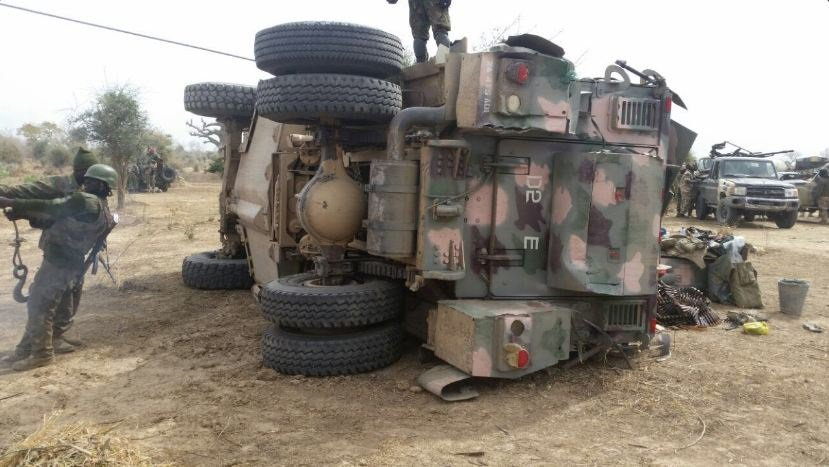 MRAP WARS : IED vs Mobility – DefenseNigeria