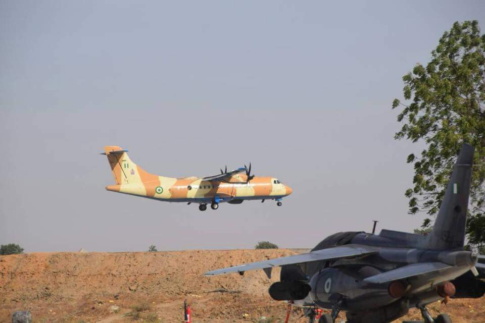 Image result for Nigerian Air Force King Air 350i