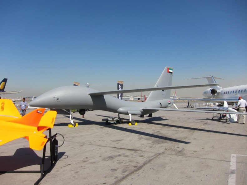 UAE's united-40 tandem-wing armed drone Namrod missile Adcom Systems' latest unmanned air vehicle  the United 40 (10).jpg