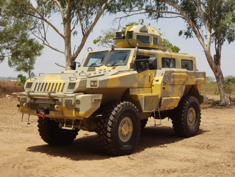 Paramount_Group_Marauder_armored_vehicle_commissioned_into_service_by_Nigerian_Air_Force